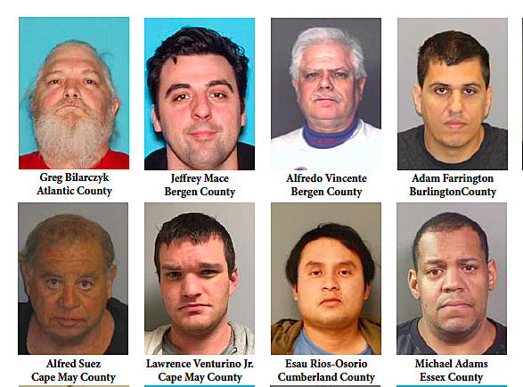 40 men busted in NJ child porn sting: At least one suspect in EVERY