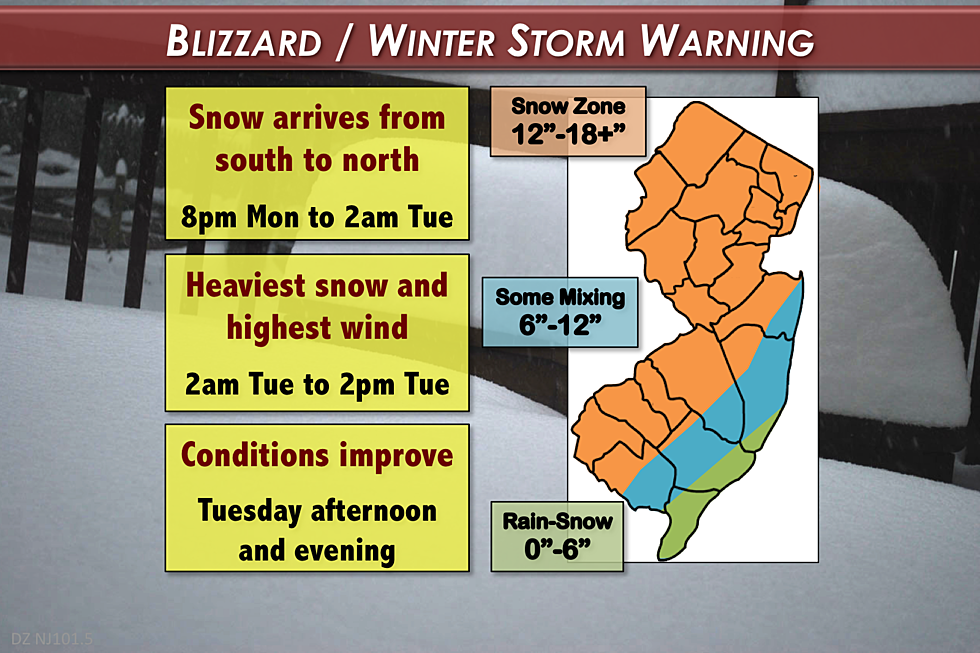 Winter Storm Warning Bring It On Says >> Nor Easter Still On Track To Bring Big Snow And Wind To Nj
