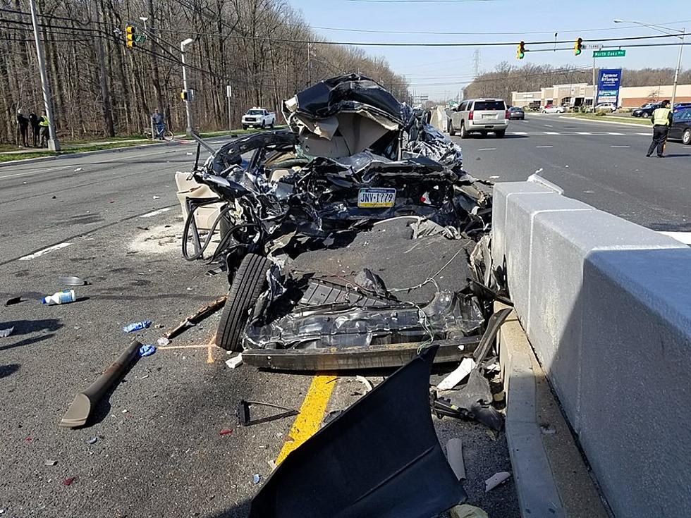 Truck crushes cars stopped at Route 1 intersection in North Brunswick