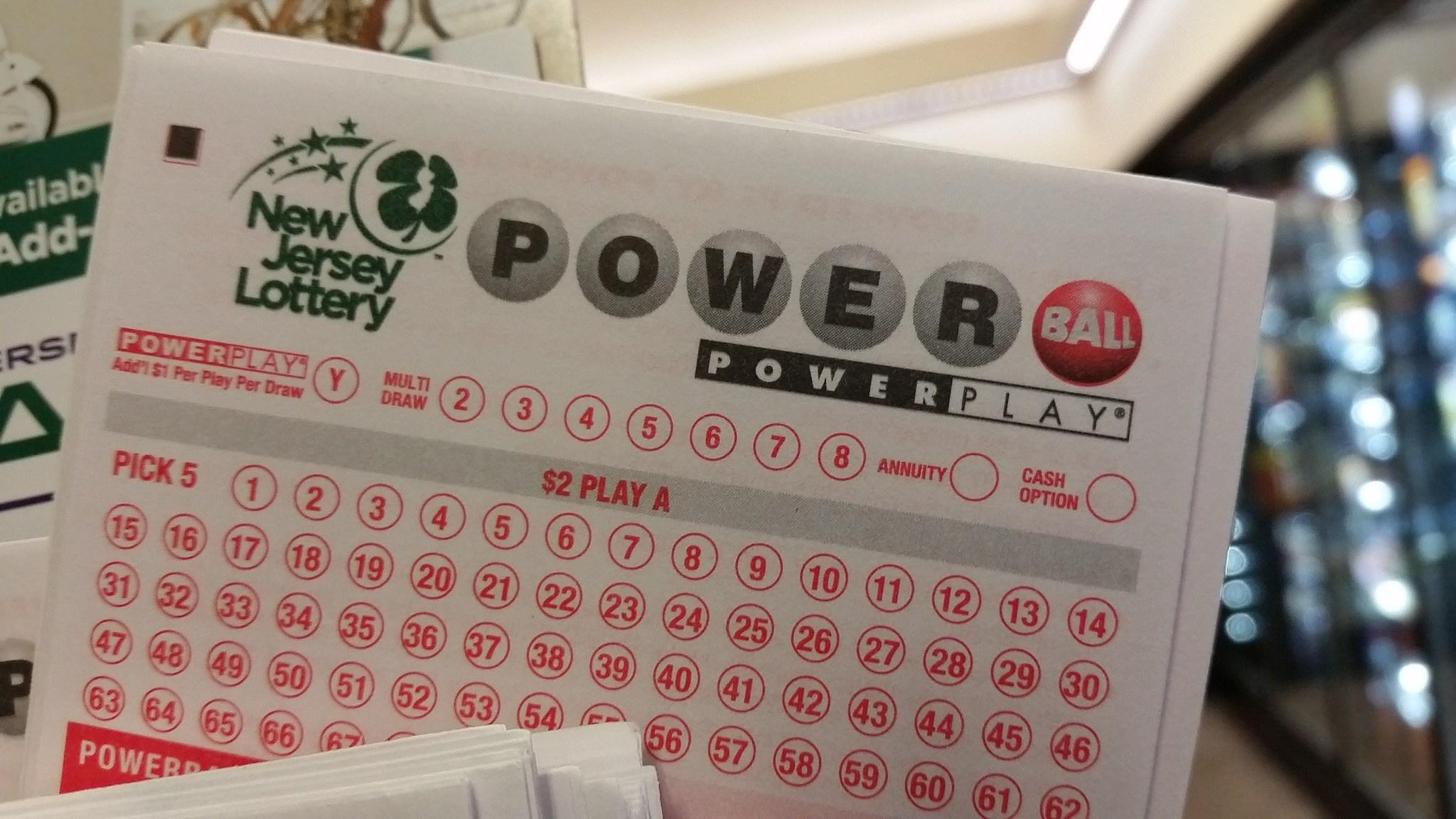 Powerball winning numbers today nj