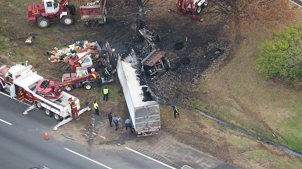 Fatal Turnpike crash and truck fire slows morning commute