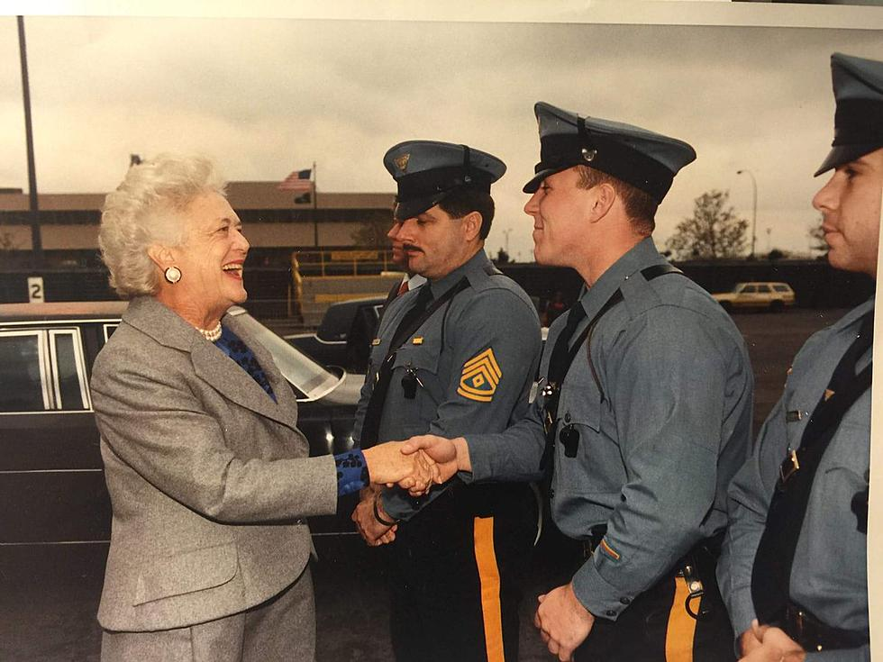 Barbara Bush's NJ trip inspired Secret Service agent's devotion