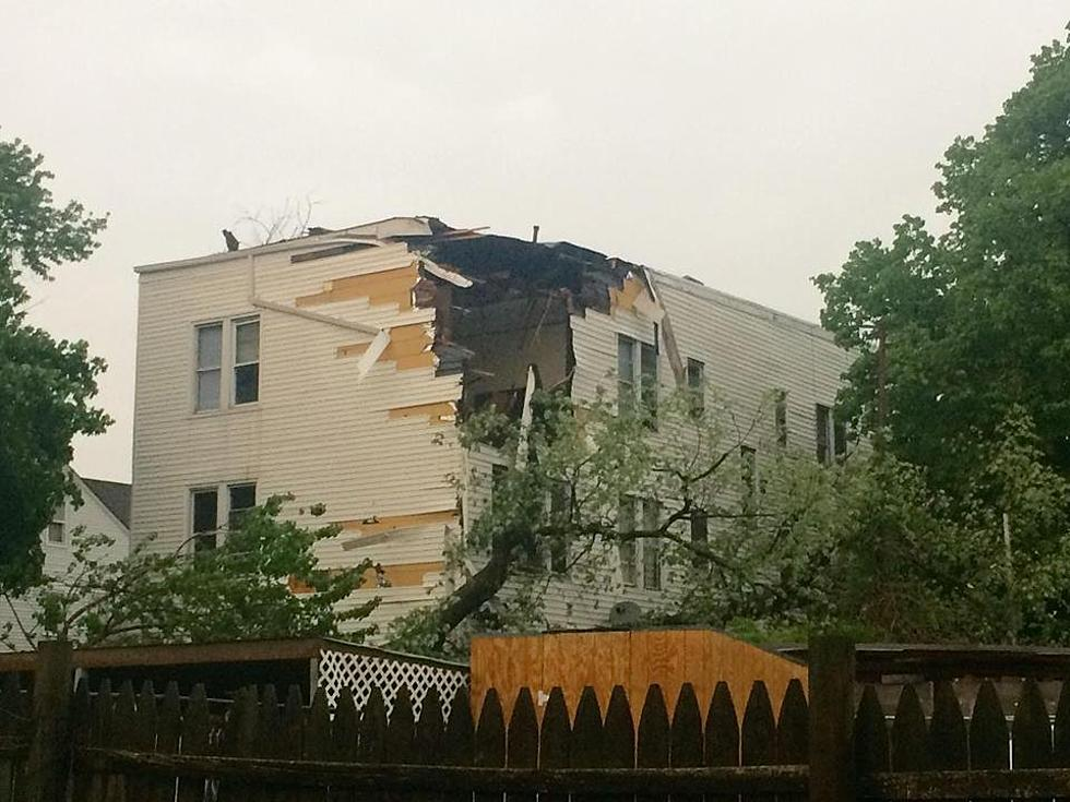 Fire, live wires, fallen trees cause damage during severe storms