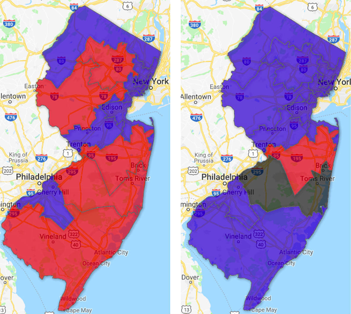 This is what the Blue Wave looks like in New Jersey — MAP