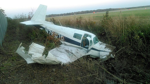 Small Plane Crashes at Cape May County Airport