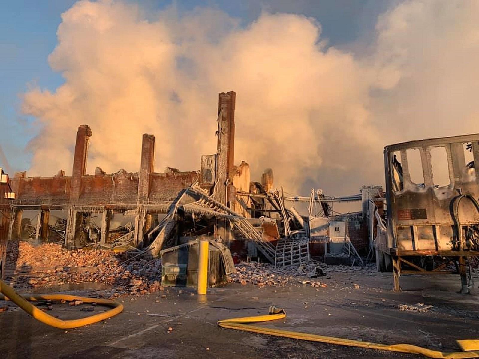 Llave Día del Niño Ambientalista  Borough spent $185,000 fighting fire at landmark Marcal factory