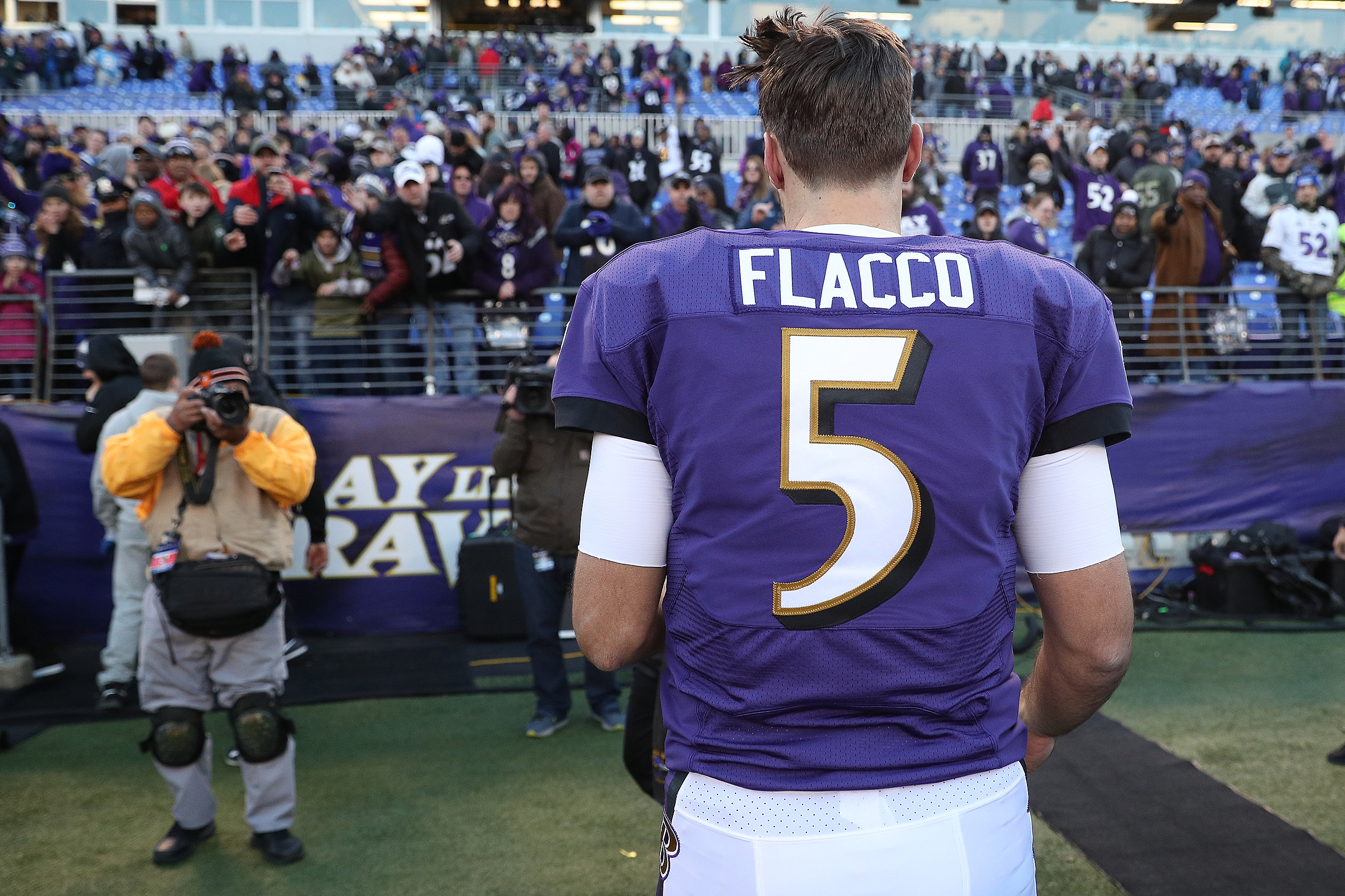 5a594ba8aa0 Jersey Joe Flacco to the Broncos, mean anything for the Giants?