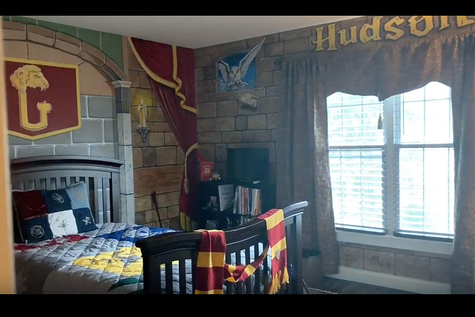 . See this lucky NJ kid s amazing Harry Potter inspired bedroom