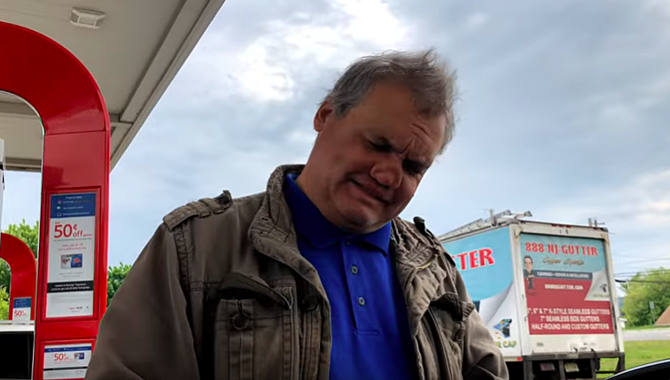 Why Artie Lange is pumping gas in Hunterdon County
