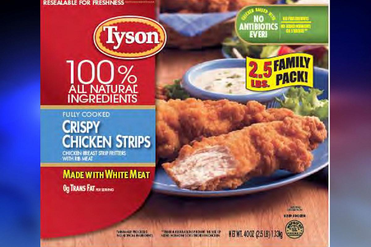 A dozen brands recall 12M pounds of frozen chicken over 'oral injury' - New Jersey 101.5 FM Radio