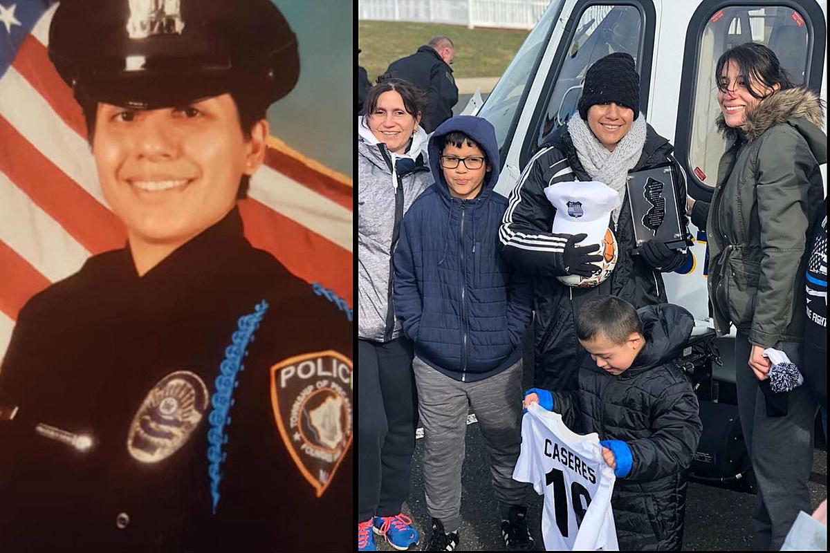 NJ police officer, former soccer standout, dies of lung cancer