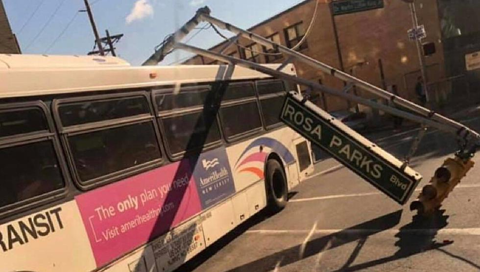 An ironic New Jersey bus accident