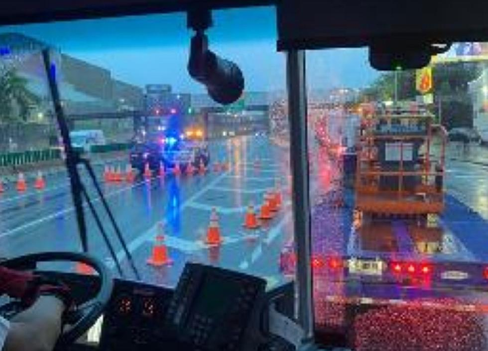 UPDATE: Route 495 reopens near inbound Lincoln Tunnel