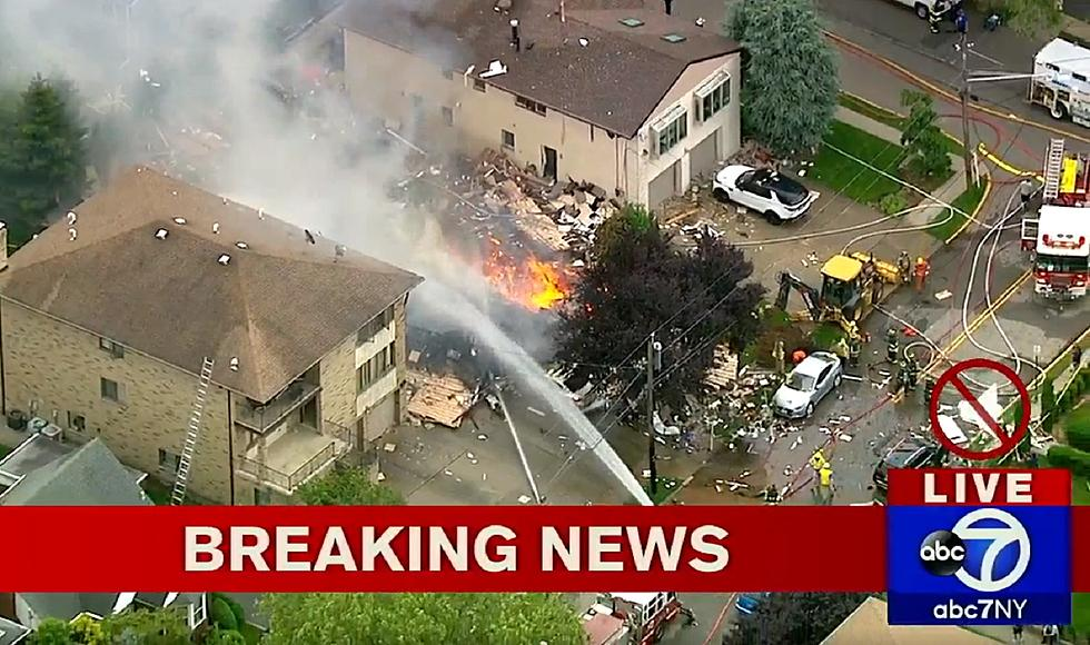 House destroyed by explosion in Ridgefield