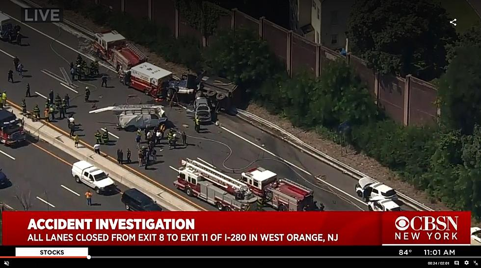 Dump truck hits 2 troopers responding to Route 280 crash