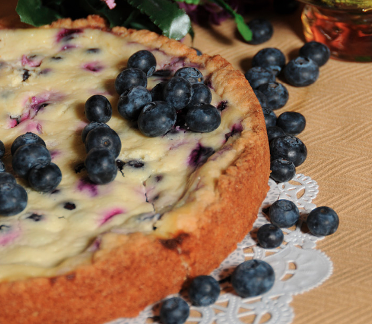 Big Joe's Blueberry Sour Cream Cake