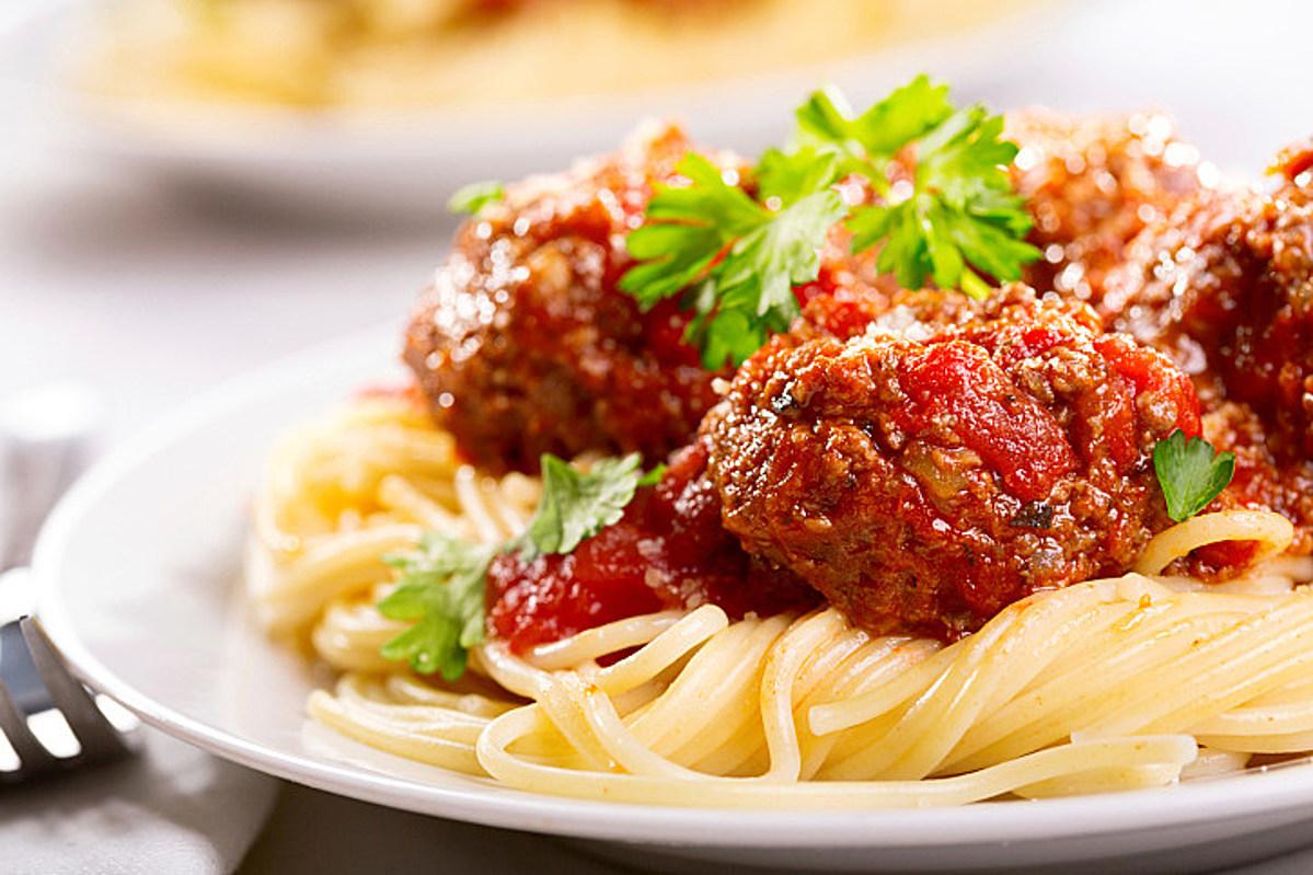 Big Joe's Meatballs and Great Tomato Sauce Recipe