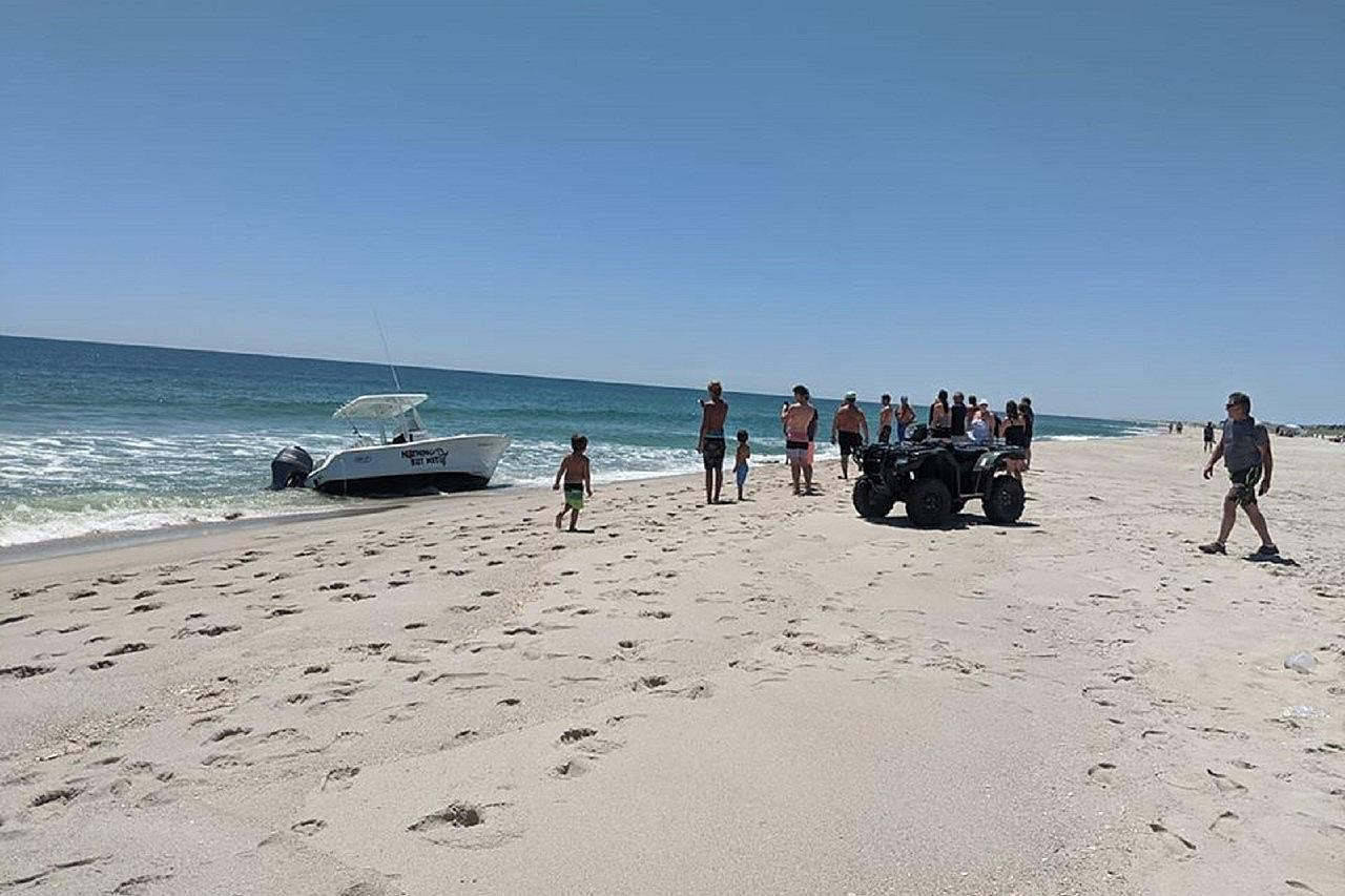 Boat Got Flipped Over By A Whale