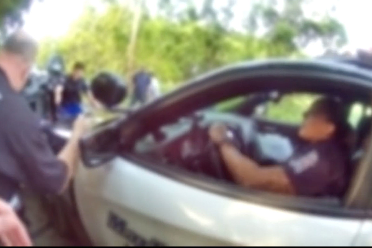 Marlboro Police Rescue Teen From Burning Suv Wreck Seen In Video