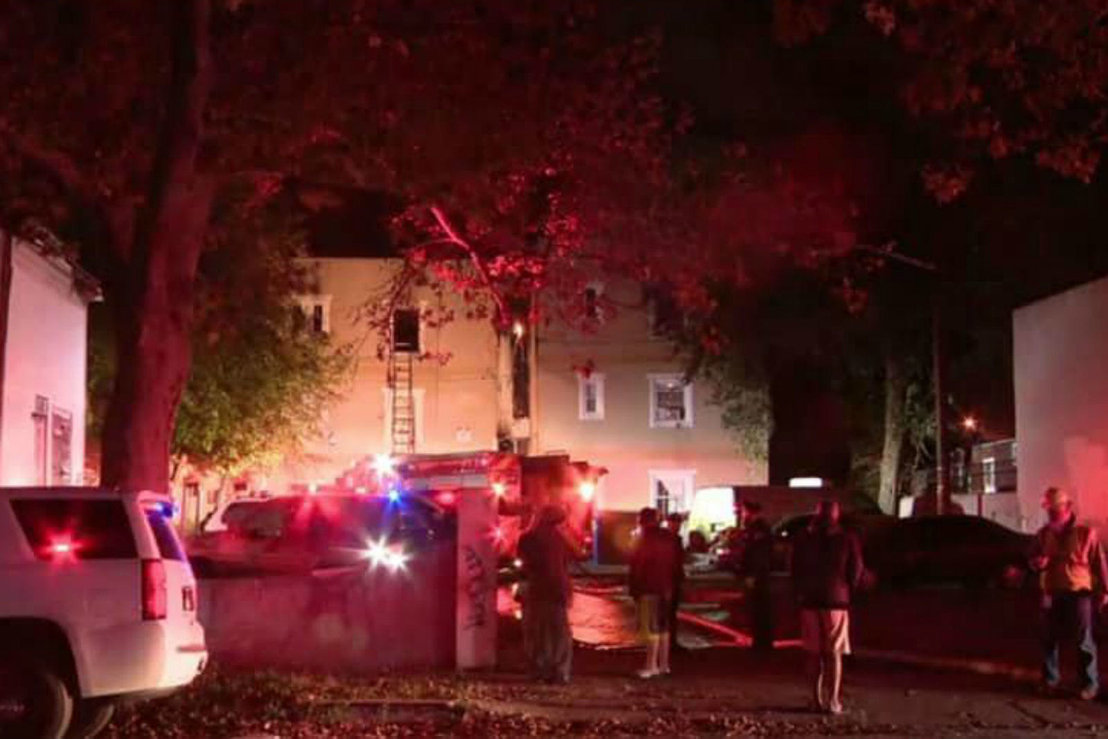 Homeless man set fire that killed two people, police say