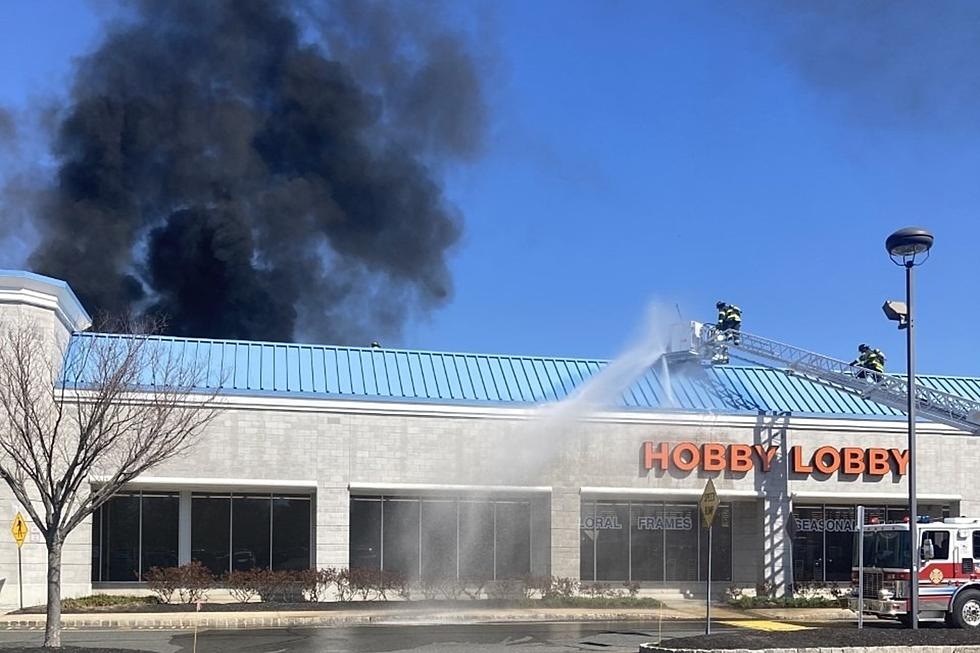Solar Panels Catch Fire Atop Hobby Lobby Store In Holmdel Again