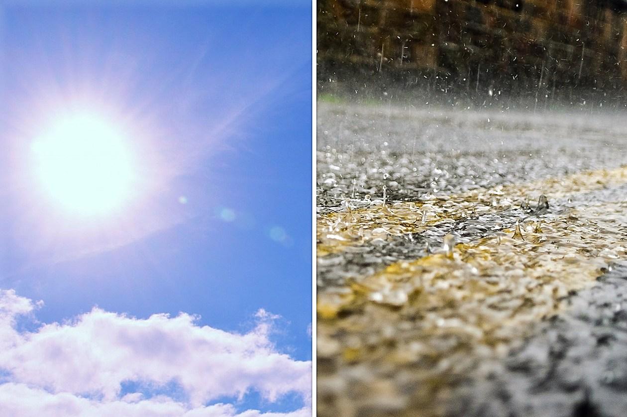 NJ weekend weather: September-ish Saturday, showery Sunday