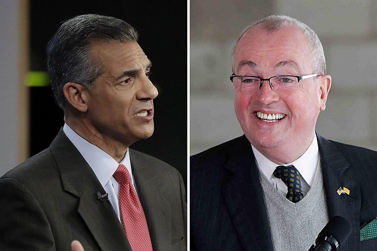 Murphy lead over Ciattarelli shrinks a bit in NJ governor's race