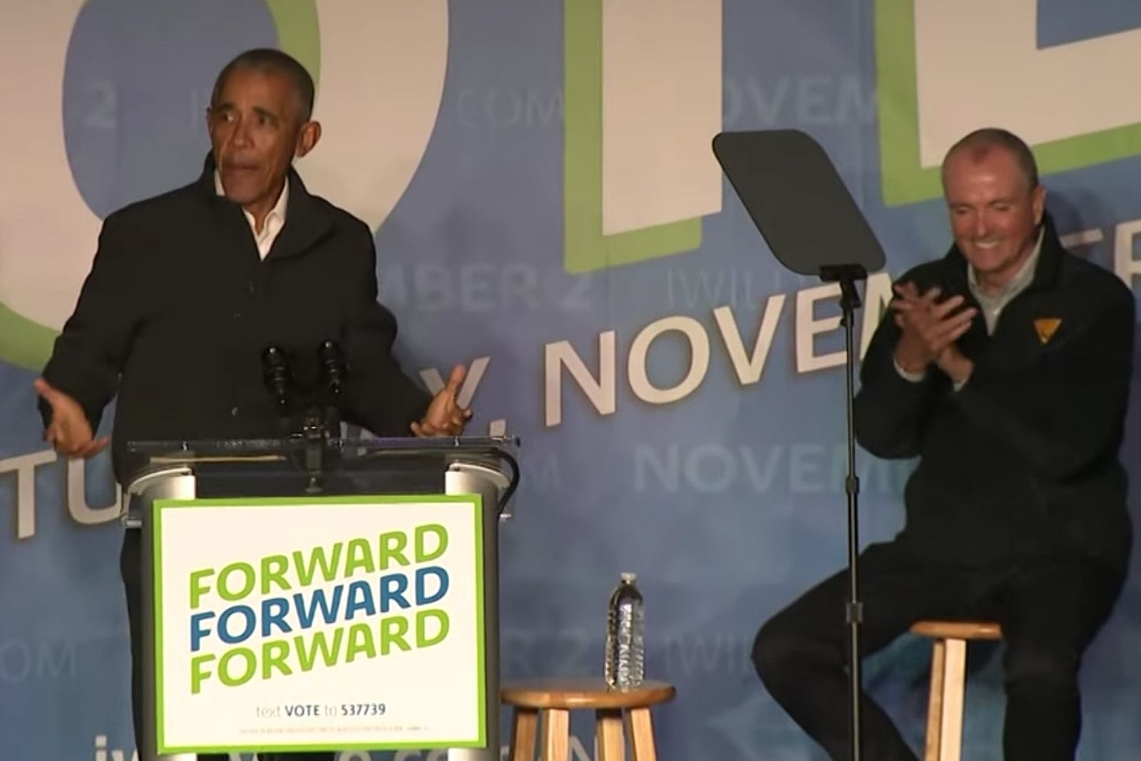 Obama roasts Ciattarelli for going to NJ 'Stop the Steal' rally