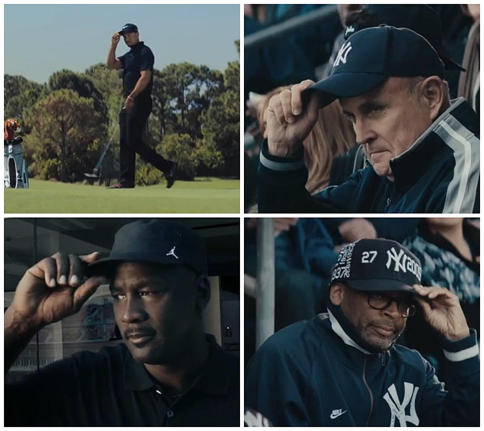 World Tips Hat To Derek Jeter In Nike Ad