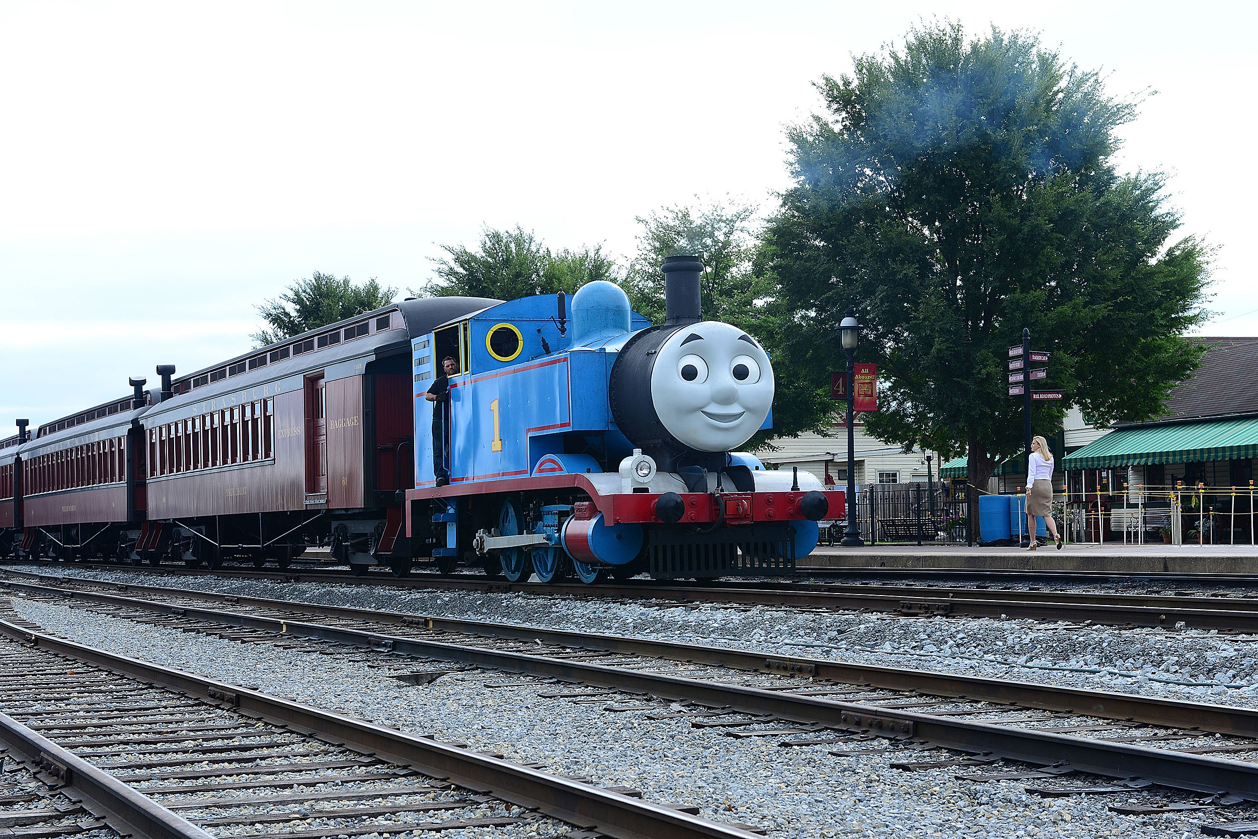 What Could George Carlin And Thomas The Tank Engine Possibly