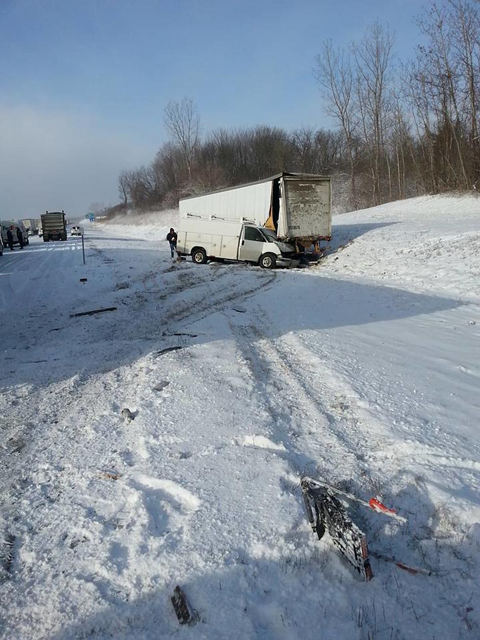 Multi Vehicle Accident Closes I-90