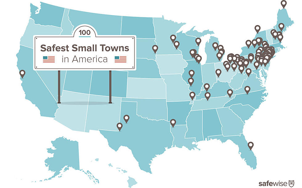 Map Of New York Towns.Cny Town 3rd Safest In New York 39th Safest In America