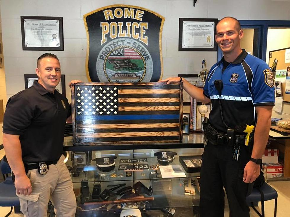 Rome Police Department >> Man Crafts Amazing Gift For Rome Police Department