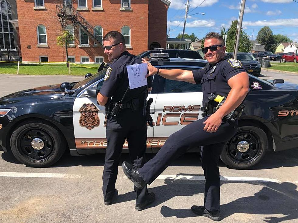 Rome Police Department >> Best First Day Of School Pictures Goes To Rome Cops And Cny Moms