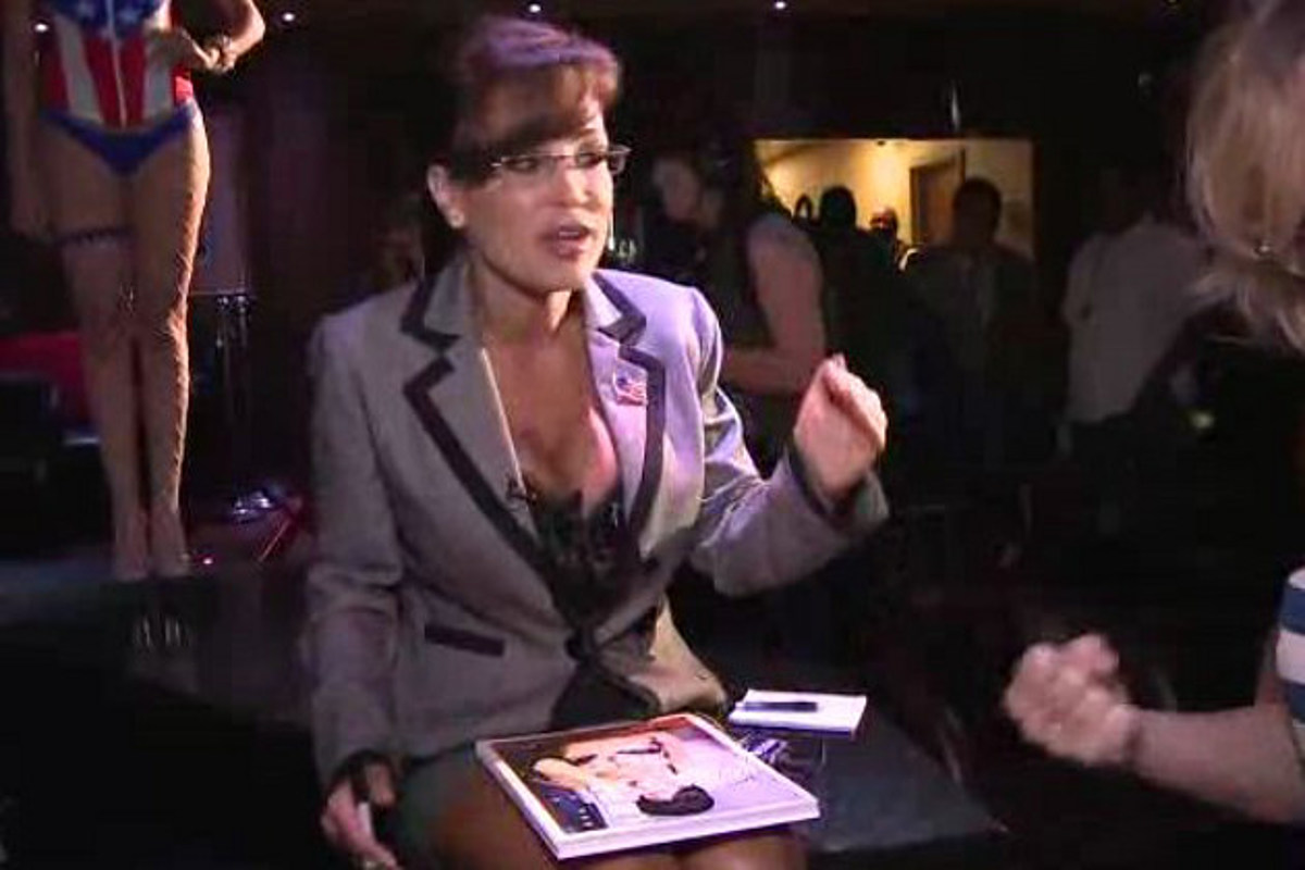 Sarah Palin Lookalike Will Be Among Plethora Of Strippers