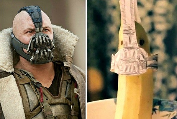 Best Yoga Pants >> Batman is a Shampoo Bottle and Bane is a Banana in This Batty 'Dark Knight Rises' Parody