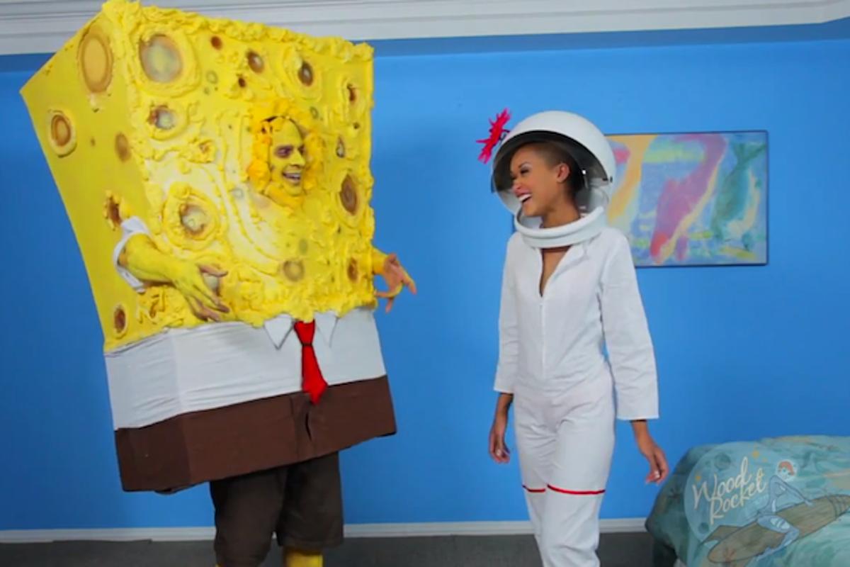 Spongebob porn parody