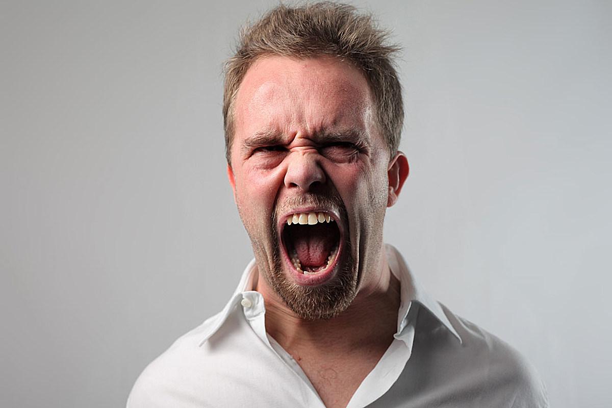 картинки людей которые кричат