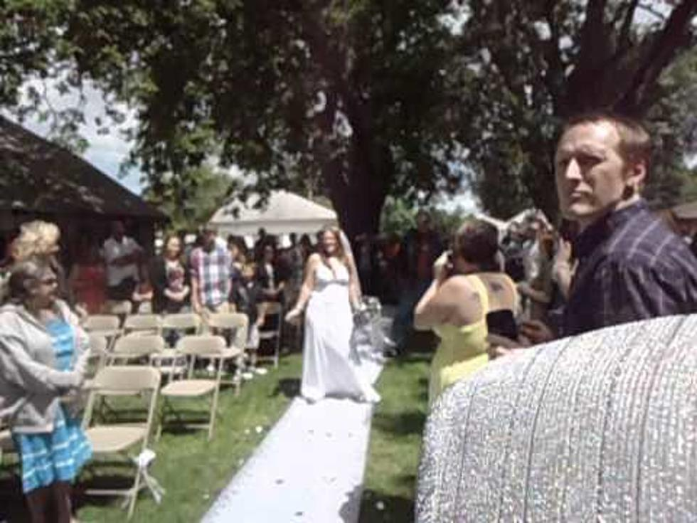 White Trash Wedding.Free Beer Hot Wings Most White Trash Wedding Entrance