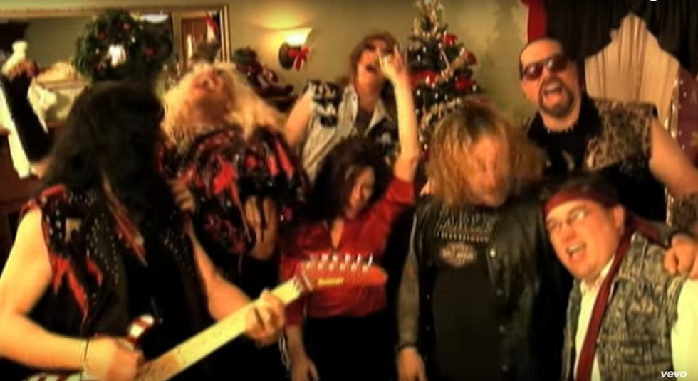 Twisted Sister Christmas.Christmas Playlist 12 Hard Rock And Heavy Metal Favorites