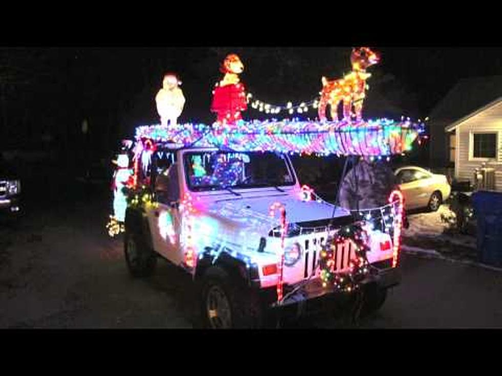 Christmas Jeep.Have You Seen This Christmas Jeep Driving In Point Pleasant