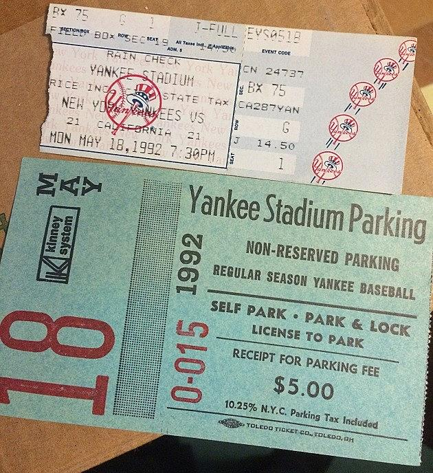 ThrowBackThursday - Varacchi's First Yankee Game