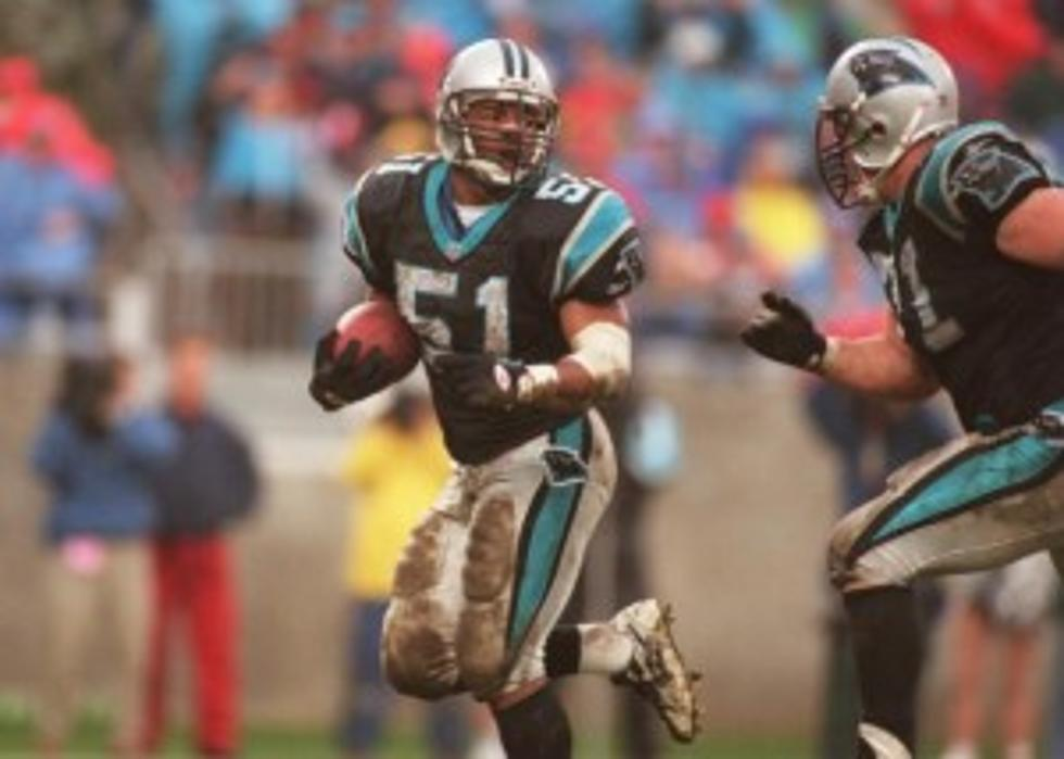 sports shoes adb63 1badd Long Branch's Sam Mills Honored on New NFL Jersey