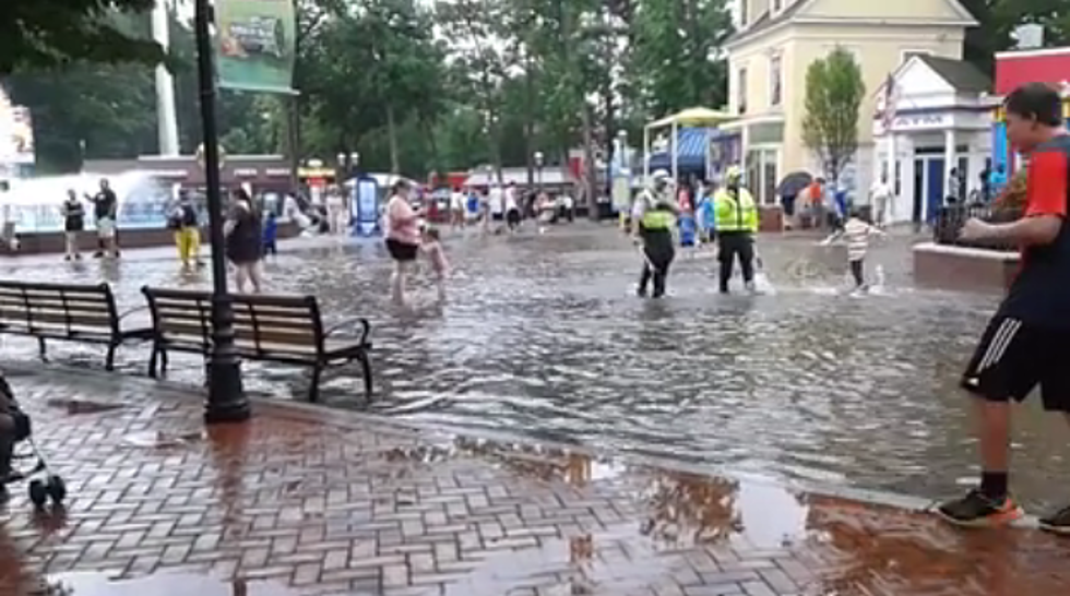 Watch: Weekend Rain Causes Flash Flood at Great Adventure