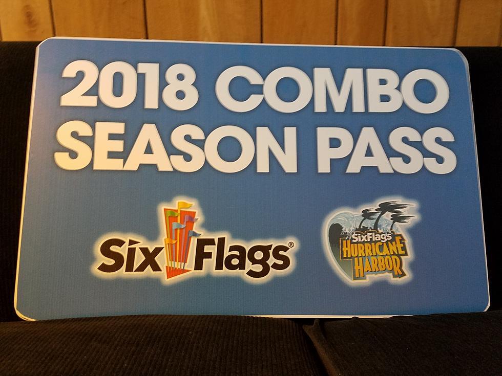 Flash Sale for 2018 Six Flags Season Passes!