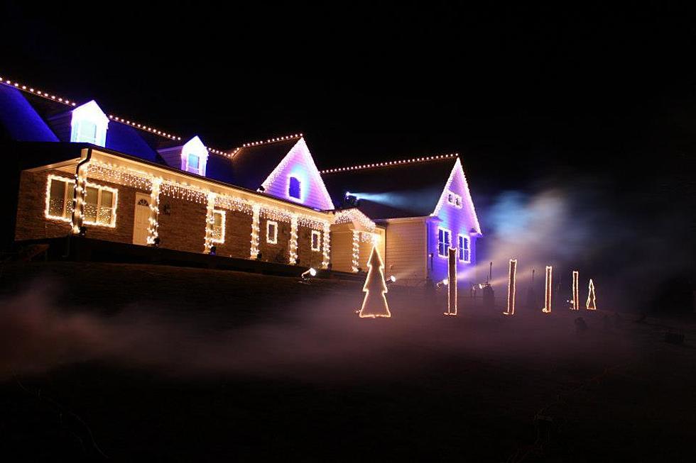 Christmas Light Show.The Future Of The Wall Christmas Light Show 2017