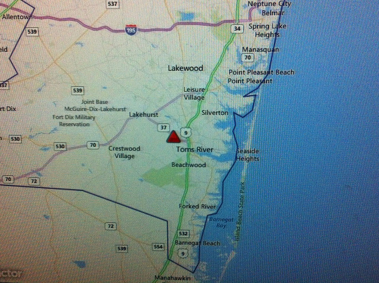 Berkeley Power Outage Map.Update Large Power Outage Reported In Toms River And Berkeley Township
