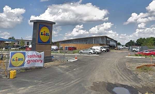 the lacey township lidl is finally breaking ground. Black Bedroom Furniture Sets. Home Design Ideas