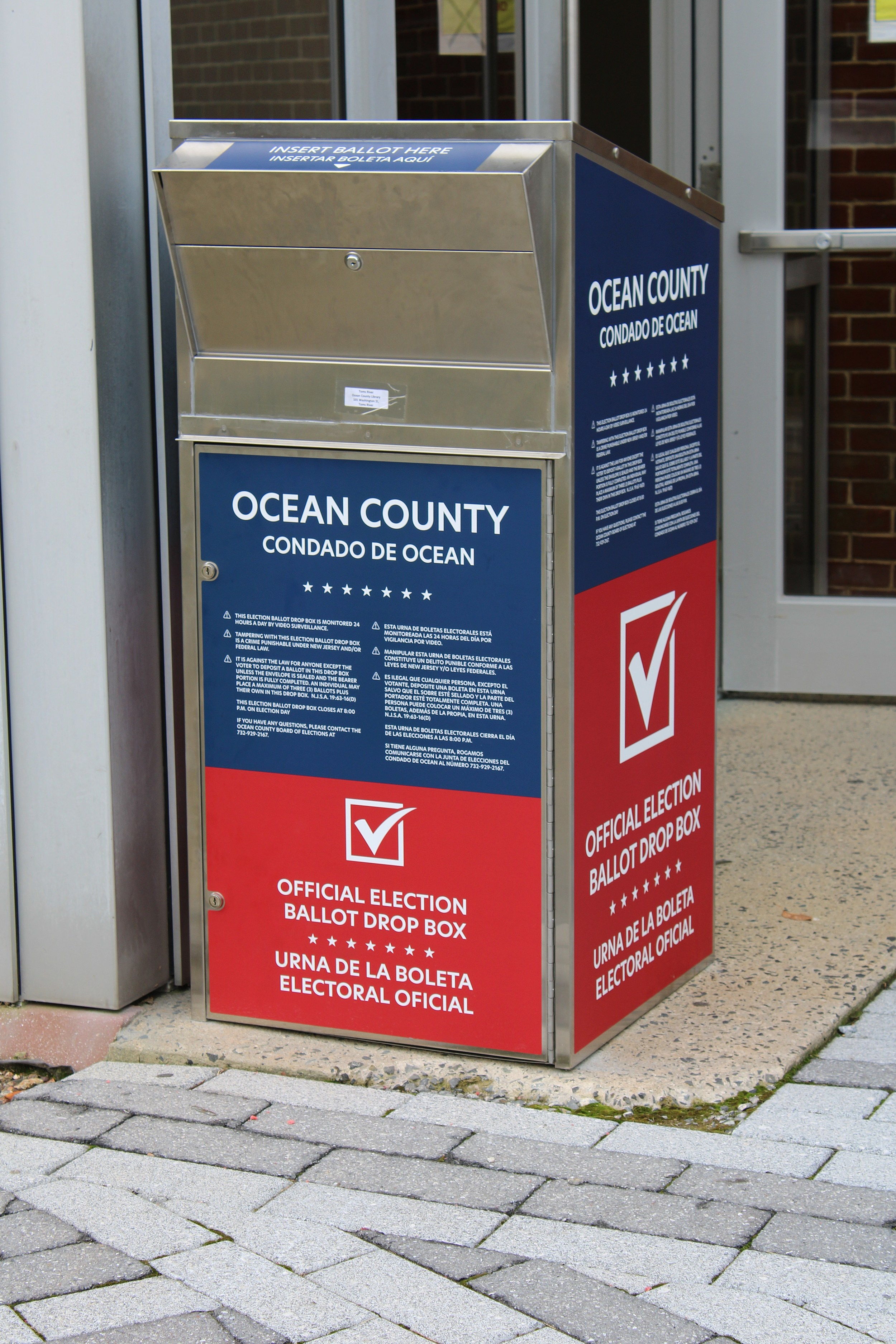 Here Are The Jersey Shore Vote By Mail Ballot Drop Off Locations