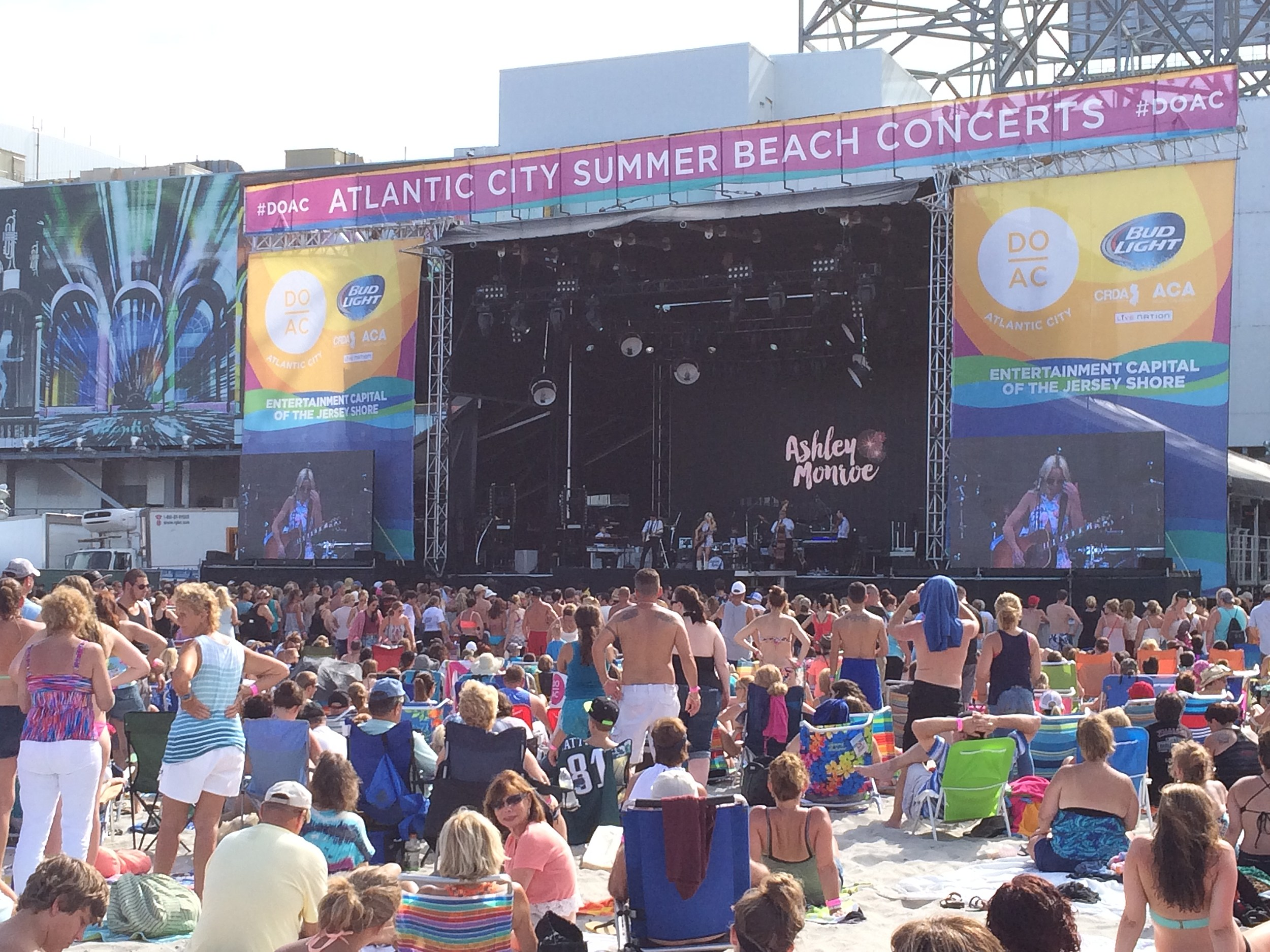 Parking Options Announced For Atlantic City Beach Concerts Events